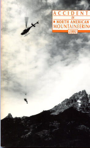 1991 Accidents in North American Mountaineering