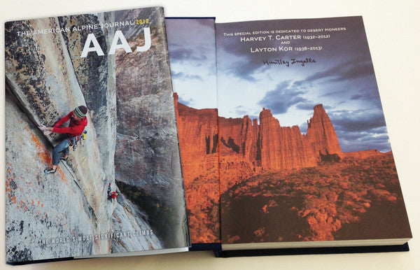 2013 American Alpine Journal — Limited-Edition Hardcover