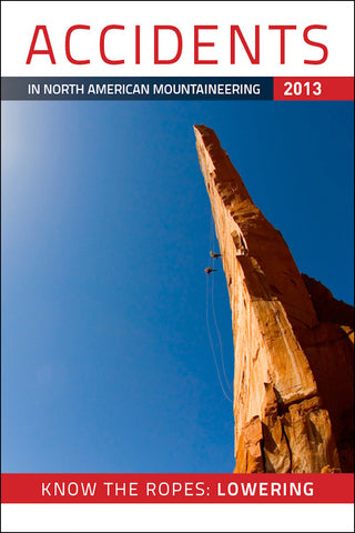 2013 Accidents in North American Mountaineering