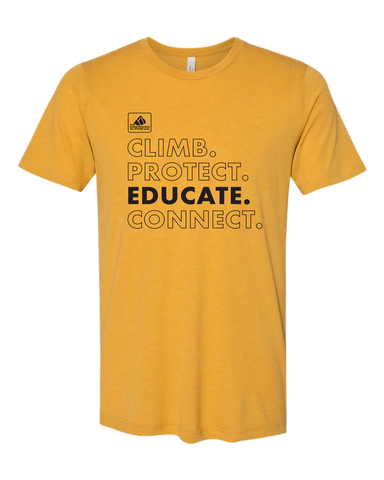 Climb Protect Educate Connect T-Shirt