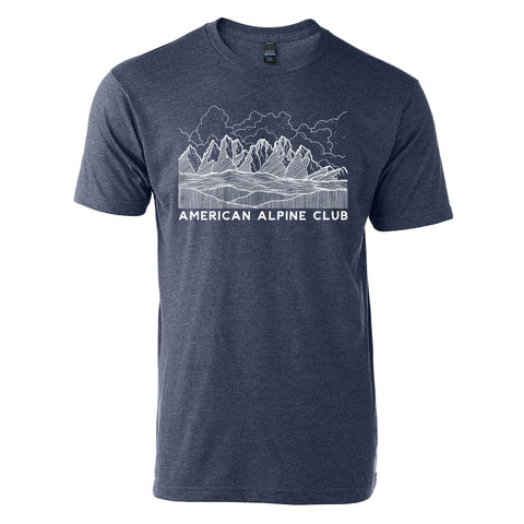 Navy Mountains T-Shirt