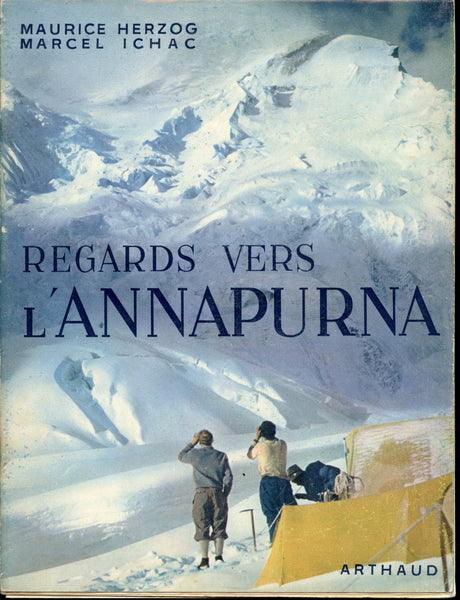 Regards vers L'Annapurna (signed)