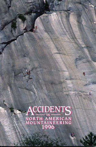 1996 Accidents in North American Mountaineering