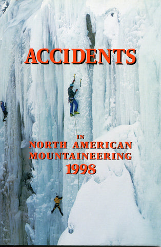 1998 Accidents in North American Mountaineering