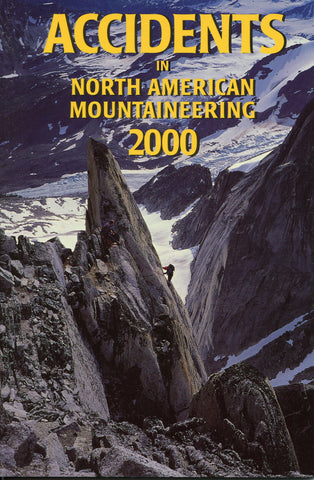 2000 Accidents in North American Mountaineering