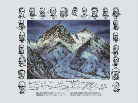 Everest Poster by Dee Molenaar