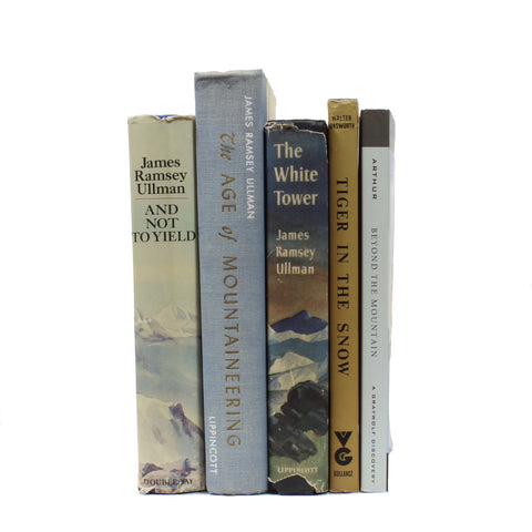 5 Assorted Mountaineering Books Grab Bag