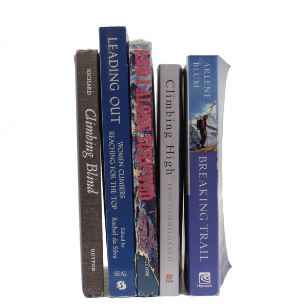 5 Assorted Women Mountaineers Book Grab Bag