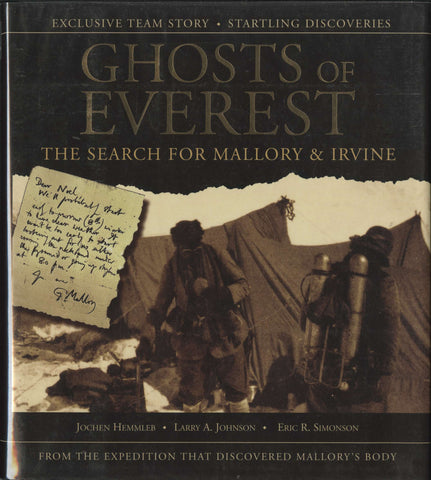 Ghosts of Everest (signed)