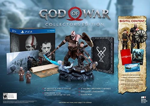 God of War - Collectors Edition for PlayStation 4-PS4 Games-Best Deals & Beyond