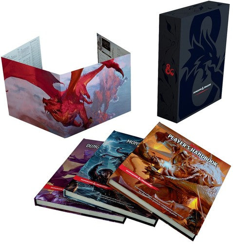 Dungeons & Dragons Core Rulebook Gift Set (Dungeons & Dragons, D&D)-Books-Best Deals & Beyond