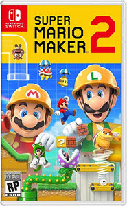 Super Mario Maker 2 for Nintendo Switch-Nintendo Switch Game-Best Deals & Beyond