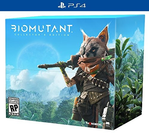Biomutant - Collectors Edition for PlayStation 4-PS4 Games-Best Deals & Beyond