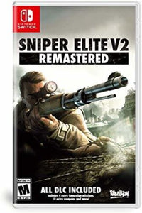 Sniper Elite V2 Remastered for Nintendo Switch-under $5-Best Deals & Beyond