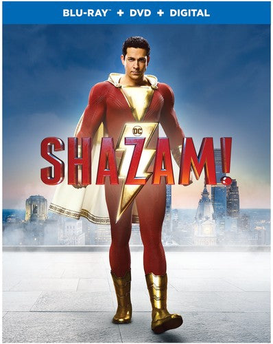 Shazam (With DVD, Digital Copy, Dolby, AC-3, Dubbed)-DVD Movies-Best Deals & Beyond