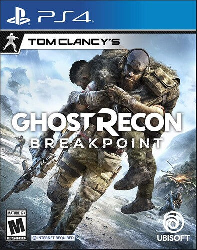 Tom Clancy's Ghost Recon Breakpoint for PlayStation 4-PS4 Games-Best Deals & Beyond