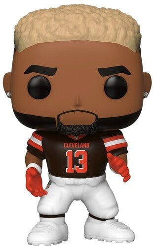 FUNKO POP! NFL: Browns - Odell Beckham Jr. (Home Jersey)-funko-Best Deals & Beyond