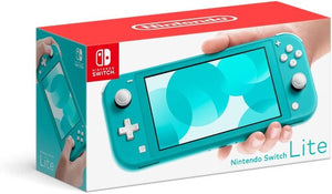 Nintendo Switch Lite - Turquoise-Nintendo Switch Console-Best Deals & Beyond