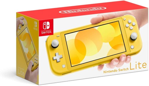 Nintendo Switch Lite - Yellow-Nintendo Switch Console-Best Deals & Beyond