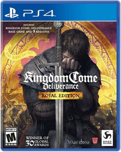 Kingdom Come Deliverance Royal Edition for PlayStation 4-PS4 Games-Best Deals & Beyond