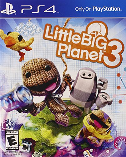 Little Big Planet 3 for PlayStation 4-PS4 Games-Best Deals & Beyond