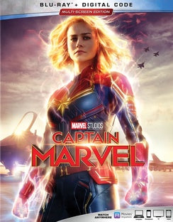 Captain Marvel (Digital Theater System, Dolby, AC-3, Dubbed, Subtitled)-DVD Movies-Best Deals & Beyond