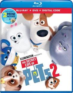 The Secret Life of Pets 2 (With DVD, 2 Pack)-DVD Movies-Best Deals & Beyond