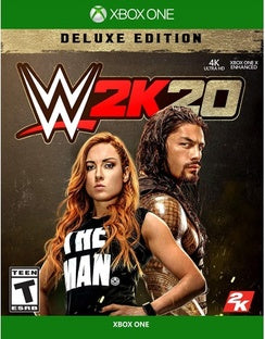 WWE 2K20 Deluxe Edition for Xbox One-Xbox One Games-Best Deals & Beyond