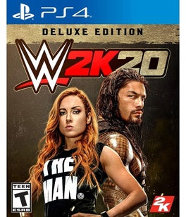 WWE 2K20 Deluxe Edition for PlayStation 4-PS4 Games-Best Deals & Beyond