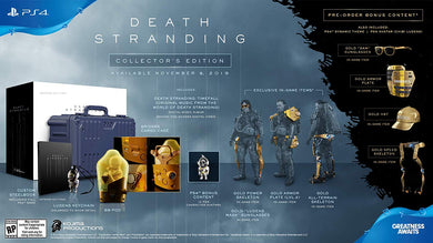 Death Stranding: Collector's Edition - PlayStation 4-PS4 Games-Best Deals & Beyond