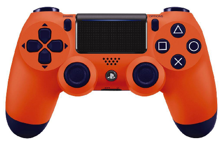 Sony Dualshock 4 Controller (NEW VERSION 2) - Sunset Orange/PS4 - Best Deals & Beyond