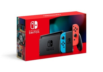 Nintendo Switch 32 GB Console: Neon Red/Neon Blue Brand New Region Free-Nintendo Switch Console-Best Deals & Beyond