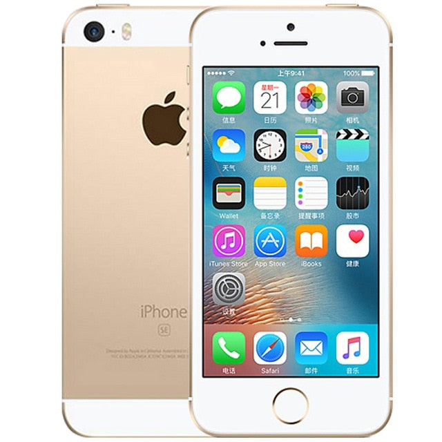 Apple iPhone SE 4G LTE Mobile Phone iOS Touch ID Smartphone-iPhone-Best Deals & Beyond