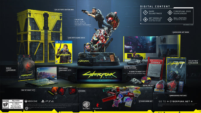 Cyberpunk 2077 Collectors Edition - PlayStation 4-PS4 Games-Best Deals & Beyond