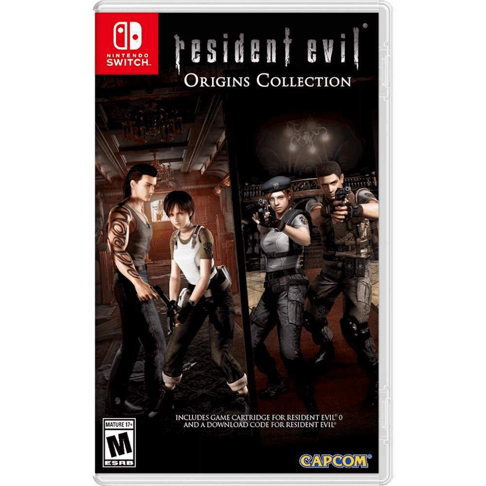 Resident Evil Origins Collection for Nintendo Switch-Nintendo Switch Game-Best Deals & Beyond