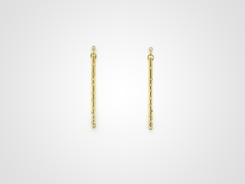 Stretto Diamond Earring Medium