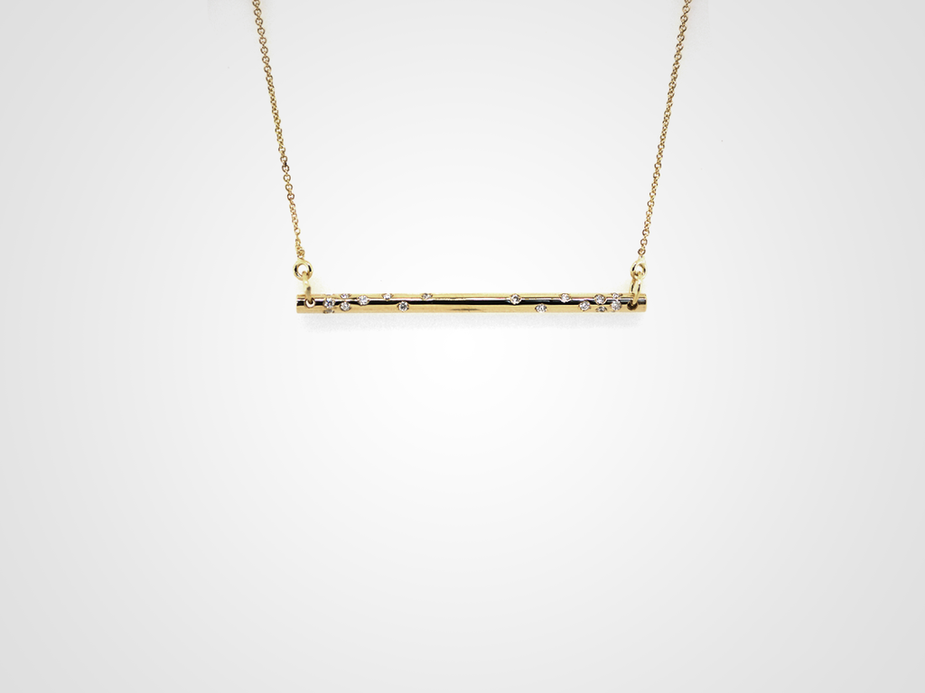 Stretto Diamond Necklace