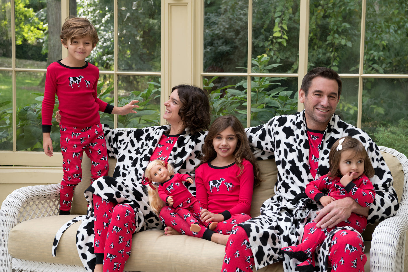 MATCHING COW PRINT