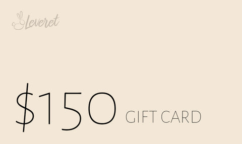 Leveret E-Gift Card