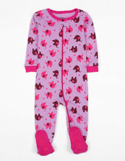Baby Footed Zoo Animals Pajamas