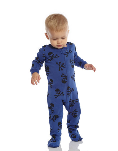 Baby Footed Halloween Pajamas