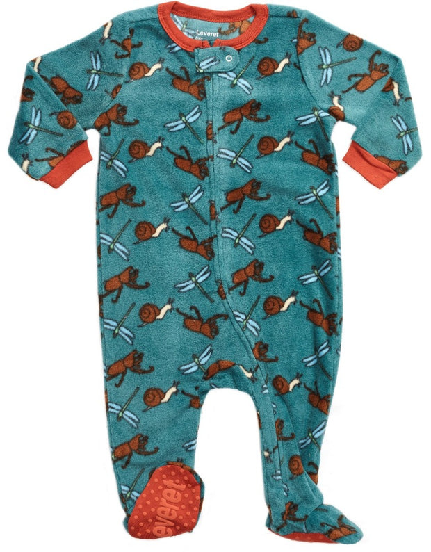 Baby Footed Fleece Animal Pajamas