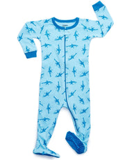 Baby Footed Ocean Animal Pajamas