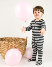 Baby Footed Striped Pajamas
