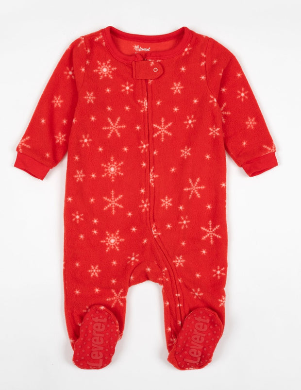 Baby Footed Fleece Christmas Pajamas