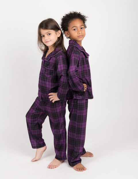 Button Down Plaid & Prints Pajamas