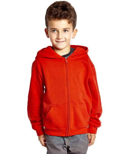 Cotton Solid Classic Color Zipper Hoodies