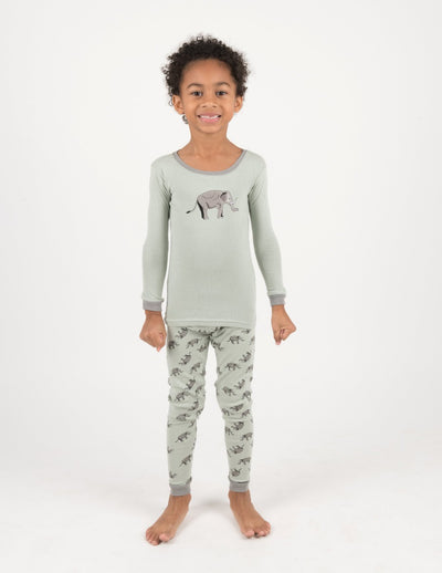 Zoo Animals Cotton Pajamas