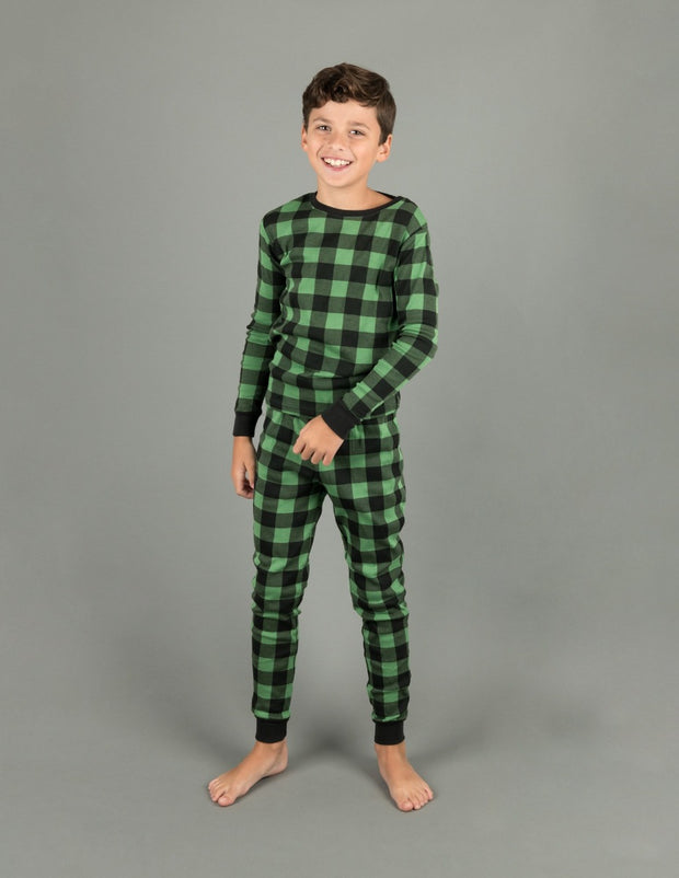 Cotton Plaid Pajamas