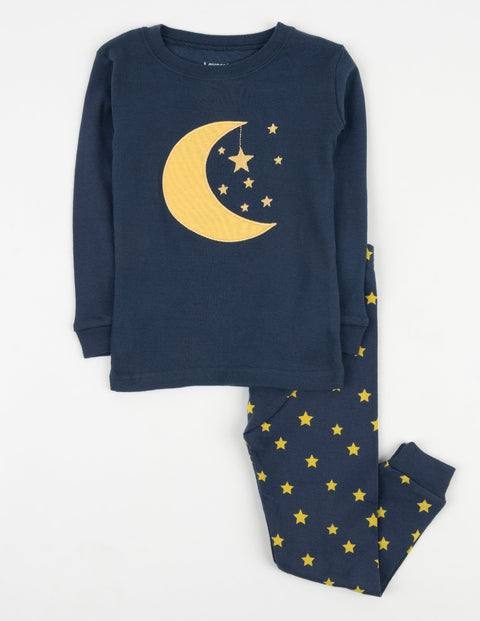 Moon & Stars Cotton Pajamas